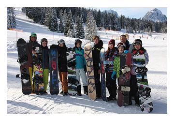 Snowboard-Kurse